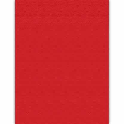 Picture of Red Pepper Red 100lb 12x18 Linen Classic Linen Digital Cover - 500 Sheets